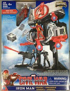 HASBRO-MARVEL-Captain-America-civil-war-Iron-Man-Armory-Iron-Man-Action-Figure