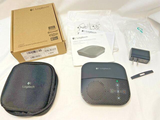 LOGITECH P710e Mobile Speakerphone 980-000741 Black $190