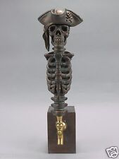 """PIRATE"" WARRIOR SKULL BAR BEER TAP HANDLE DIRECT FROM RON LEE"