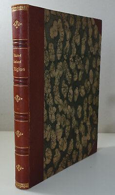 ROSTAND L'Aiglon. Drame en 6 actes, en vers Ed. Lafitte illustrée Reliure d'Art