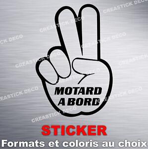 Sticker-MOTARD-A-BORD-Autocollant-voiture-Formats-et-coloris-au-choix