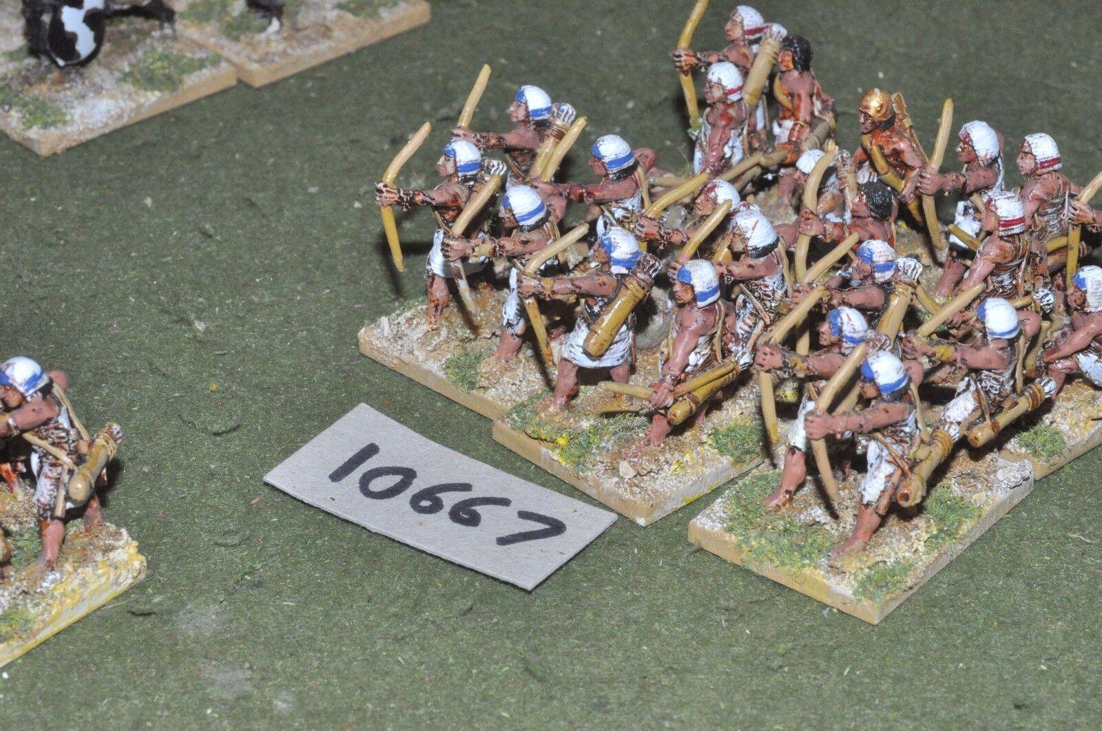 25mm bíblico egipcio-Fundición arqueros 24 Infantería-INF (10667)