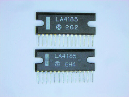 """LA4185  /""""Original/"""" SANYO  14P SIP IC  2 pcs"""