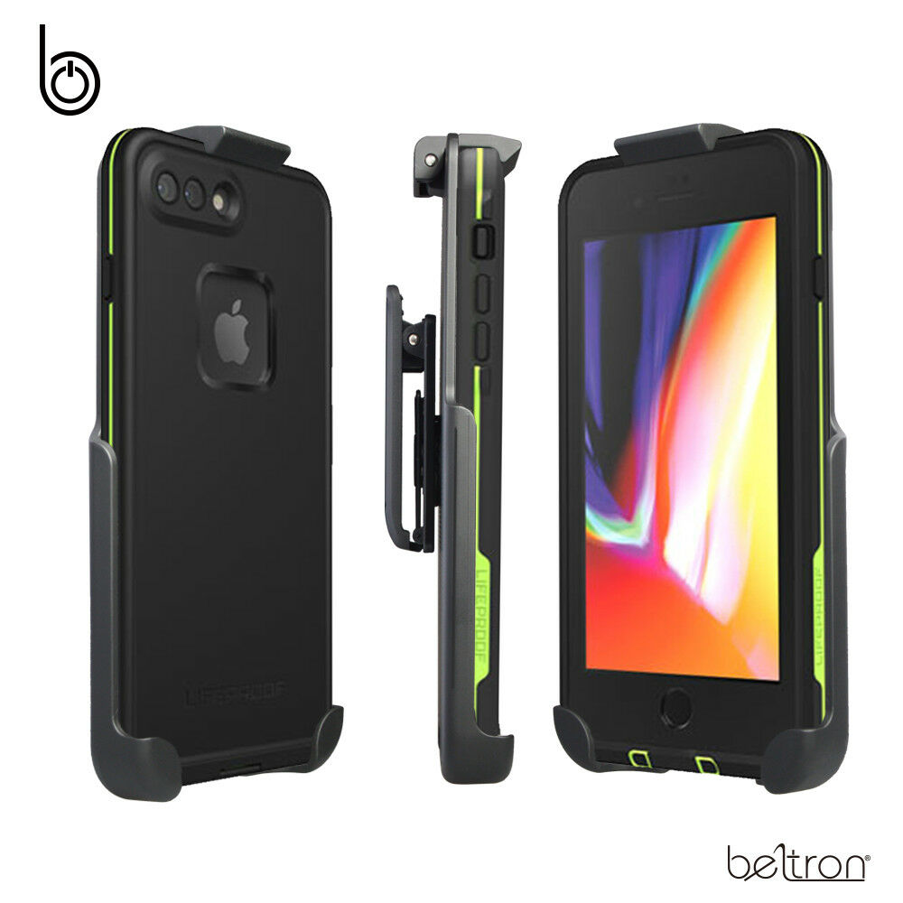 reputable site faac1 642bd Details about Belt Clip Holster fits LifeProof FRE - iPhone 8 Plus 5.5