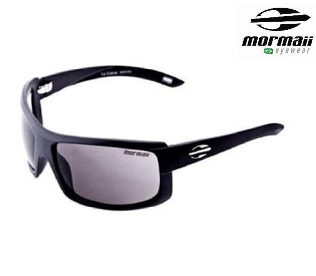 4d4c380b02e31 New MORMAII Brazil Model La Cueva Mens Sports Sunglasses Frame Color Shiny  Black