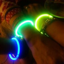 500 pcs BEST QUALITY glow in the dark sticks neon bands bracelet 5 mix colours