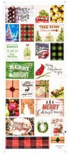 Eclectic Christmas Stickers Scrapbooking
