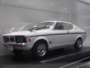 Mitsubishi-Galant-GTO-1970-White-1-43-Scale-Box-Mini-Car-Display-Diecast-Vol-46