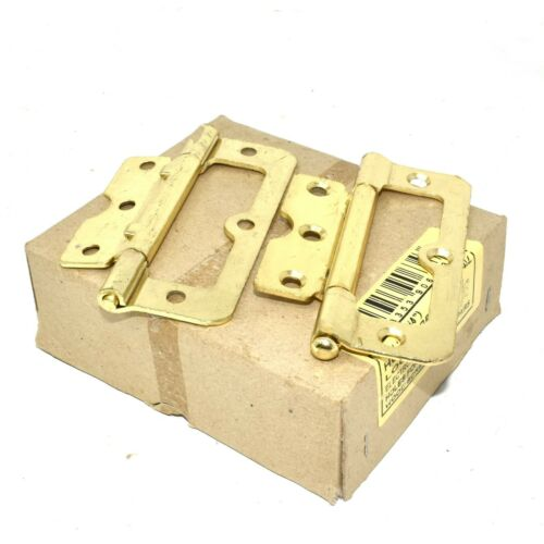 "3/"" 75mm DOOR HINGES CHROME//BRASS//SELF COLOUR 4/"" 100mm LOOSE PIN HURLINGES"