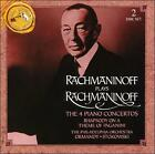 Rachmaninoff plays Rachmaninoff (CD, Aug-1994, 2 Discs, RCA)