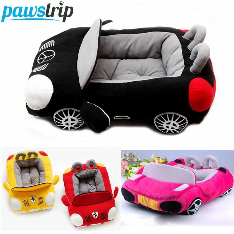 Cool Unique Dog Car Beds Detachable PP Cotton Padded Small Dog House Waterproof