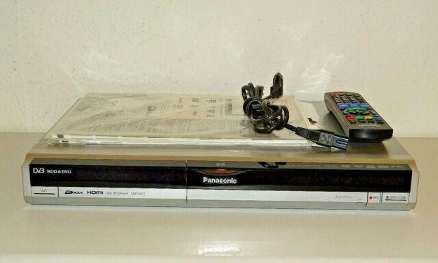 Panasonic DMR-EX77 DVD-Recorder / 160GB HDD, inkl. FB&BDA, 2 Jahre Garantie