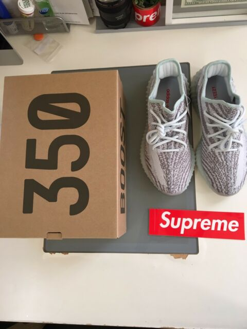 low priced c79df a911e adidas yeezy boost 350 v2 blue tint ebay