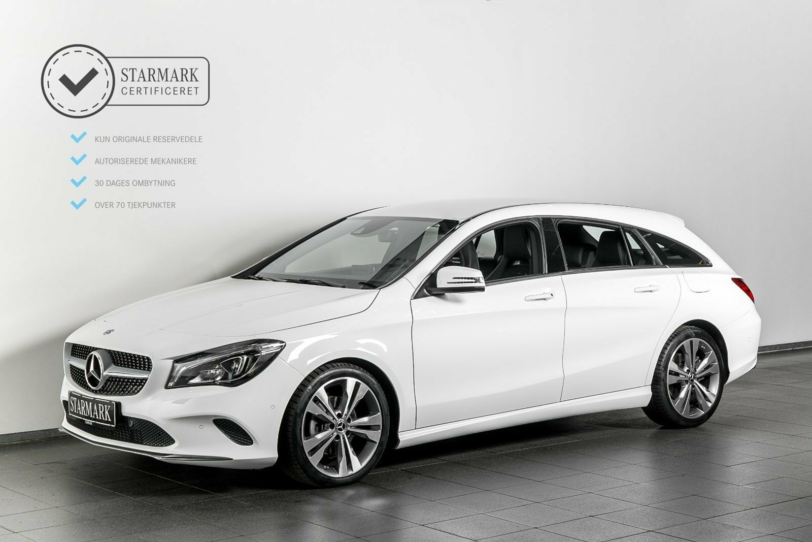 Mercedes CLA200 d 2,2 SB aut. 5d - 369.900 kr.