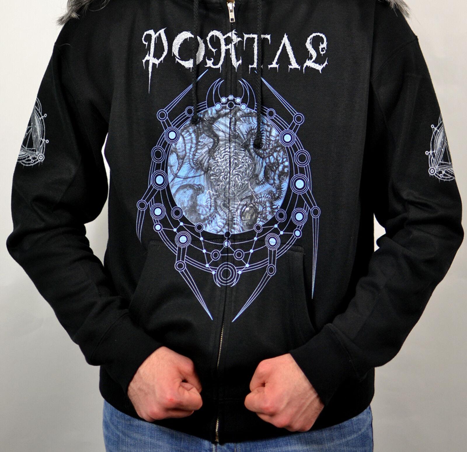 Portal Vexovoid 2013 Album Cover Zipper Sweatshirt