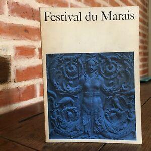 Festival de La Swamp Respaldo Retro En Valor París Historia Programa 1964