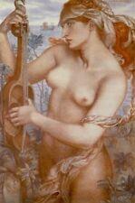 10x15cm Art Photo - Ligeia Siren - Dante Gabriel Rossetti1828 188