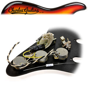image is loading rs-guitarworks-strat-modern-pre-wired-upgrade-kit-