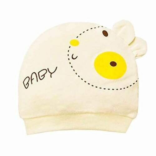Smiley Pattern Newborn Baby Cotton Styling Cap Baby Hat Child Cap W