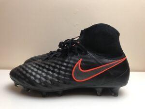 NIKE MAGISTA OBRA II 2 FG FOOTBALL BOOTS BLACK UK 6.5 EUR 40.5 ... 38f7134bb8487