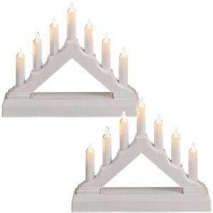 2x-LED-Lichterbogen-Kerzenlichtbogen-mit-7-warmweissen-LEDs-ca-15-5-x-13-cm-weiss