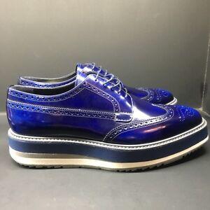 Prada Derby Shoes Men's Creepers