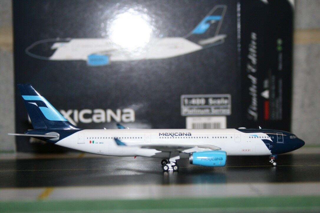 Phoenix 1 400 Mexicana Airbus A330-200 XA-MXQ (PH11390) Die-Cast Model Plane