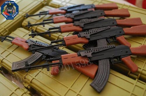 "FUCILE D/'ASSALTO Ak47 PISTOLA ARMA per 1//6 SCALA 12/"" Action Figure 1:6 model Toy"