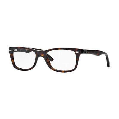 Ray Ban Eyeglasses RX5228 2012 50MM  Dark Havana Plastic Frame 50mm