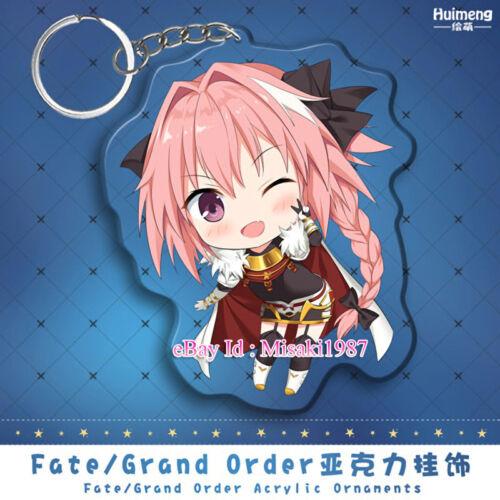 Fate//Grand Order FGO Apocrypha Astolfo Japanese Anime Girl Acrylic KeyChain