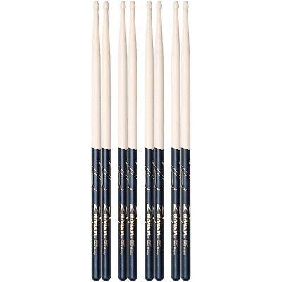 zildjian black dip drum sticks buy 3 get 1 free 5a wood 642388321683 ebay. Black Bedroom Furniture Sets. Home Design Ideas