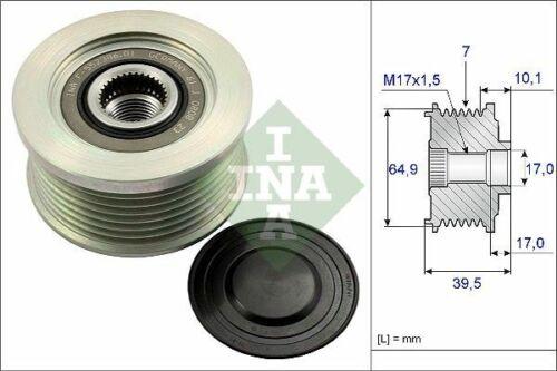 INA Generatorfreilauf 535 0177 10 für NISSAN