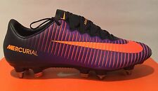 "NIKE MERCURIAL VAPOR XI SG-PRO ""PURPLE DYNASTY"" UK 8 (EUR 42,5) 831941 586"