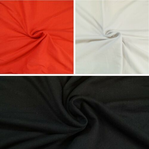 Spandex Cotton Jersey Fabric Figure Hugging Material Stretch Elastic