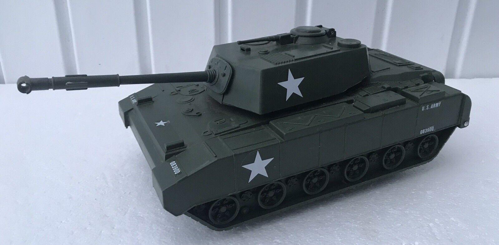 Ultra RARE 1980s Vintage Gi Joe KO US Army Tank Figure Case ZIMA Toys