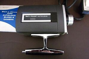 Vintage-Bell-amp-Howell-Super-8-Camera-With-Case