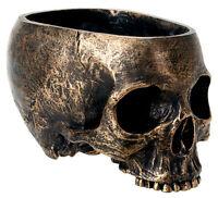 Halloween Skull Candy Bowl Dish Statue Sculpture Skeleton - Ships Immediately