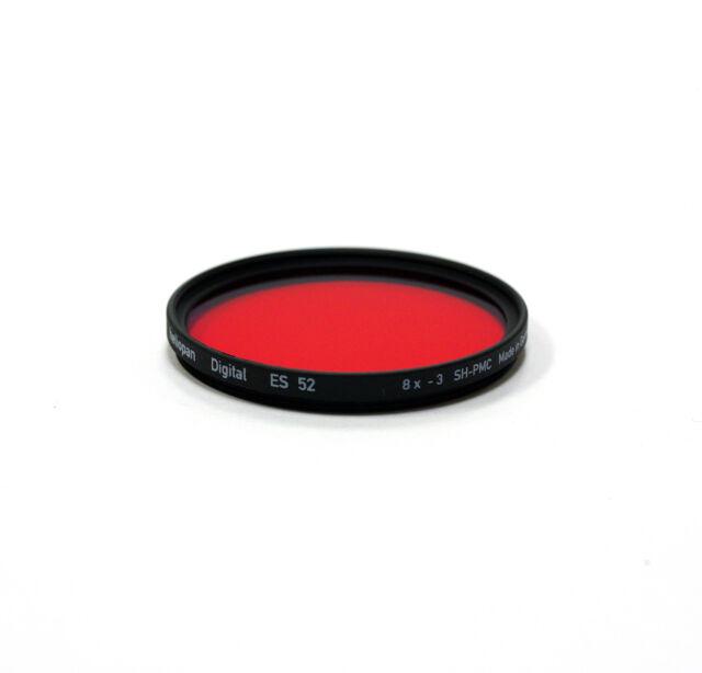 Heliopan Filter Typ 1075 39 x 0,5 mm rot hell SH-PMC Vergütung 25