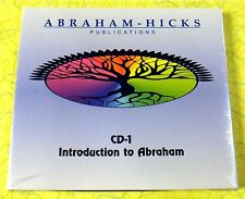 Introduction To Abraham ~ CD ~ New Sealed ~ Rare Abraham-Hicks Publications CD-1