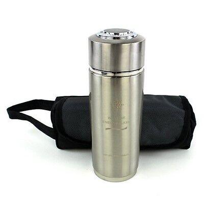 EHM Nano Energy Bottle Portable Alkaline Water Filter Ionizer Bottle Cup Flask