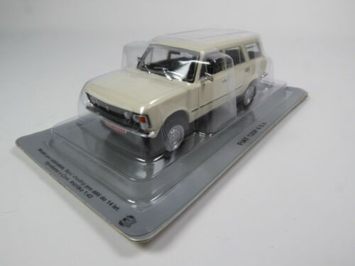 Polski Fiat 125P 4x4-1:43 DIECAST MODELL AUTO CAR USSR DeAGOSTINI P145
