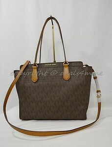 d978ab6a79e2 Image is loading Michael-Kors-Dee-Dee-Large-Convertible-Tote-Shoulder-