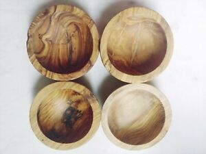 Olive Wood Bowl Handmade From The Wood Of Tunisian Olive Trees Trader Joe's New