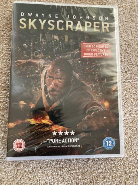 Skyscraper (DVD) [2018] [New & Sealed]