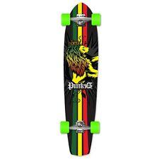 Yocaher Complete Rasta Slimkick Longboard