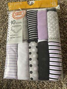 Wonder-Nation-Girls-Tagless-10-Pair-Underwear-Briefs-Cotton-Size-18