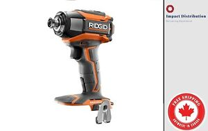 New Ridgid R86037 GEN5X 18V BRUSHLESS Lithium Ion 3 speed Impact Driver