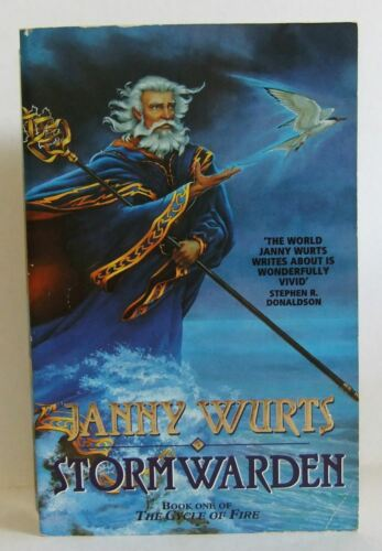 1 of 1 - Stormwarden Janny Wurts Fantasy Science Fiction Sci Fi Paperback book 1996