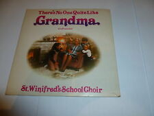 "St WINIFRED'S SCHOOL CHOIR - No one Quite Like Grandma - 1980 7"" Juke box single"
