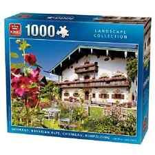 Puzzle 1000 pezzi Chiemgau ALPI BAVARESI paesaggio scena Germania 05195